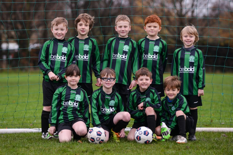 The current Nova United U9s (from the 2014-15 season, when they were U8s! New pics coming soon...)