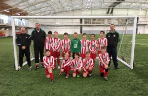 Under 12s Black at St George's Park