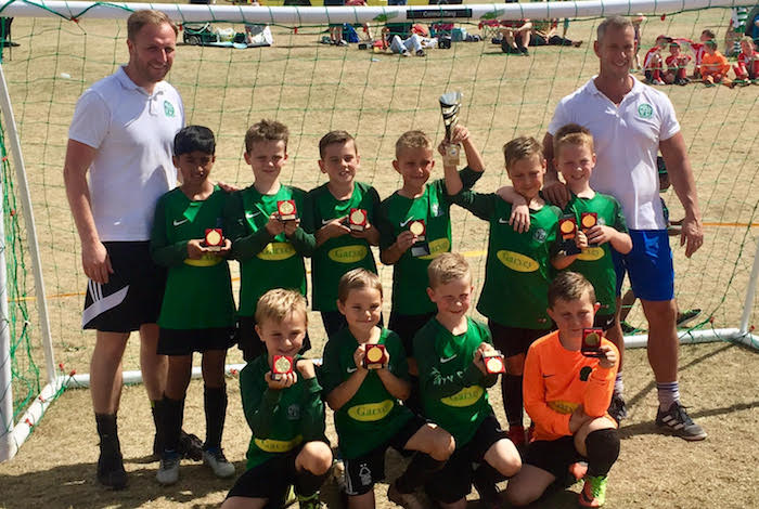 Nova U8s (16/17 season) finished their campaign with another great win!