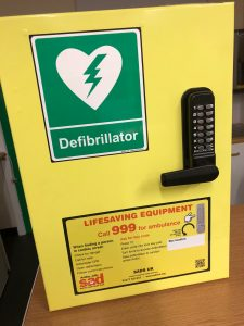 The Nova United defibrillator storage case