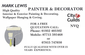 Mark Lewis Painter and Decorator