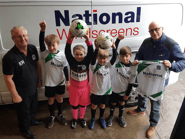 Nova United U11s 2018/19 sponsored by National Windscreens