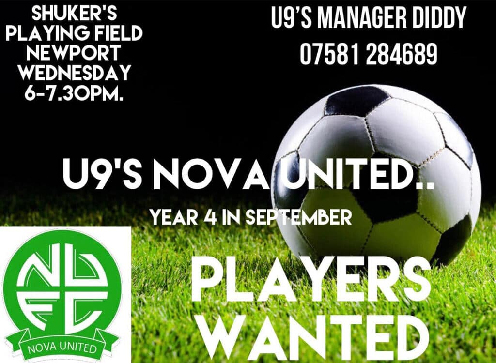 Looking for U9 players